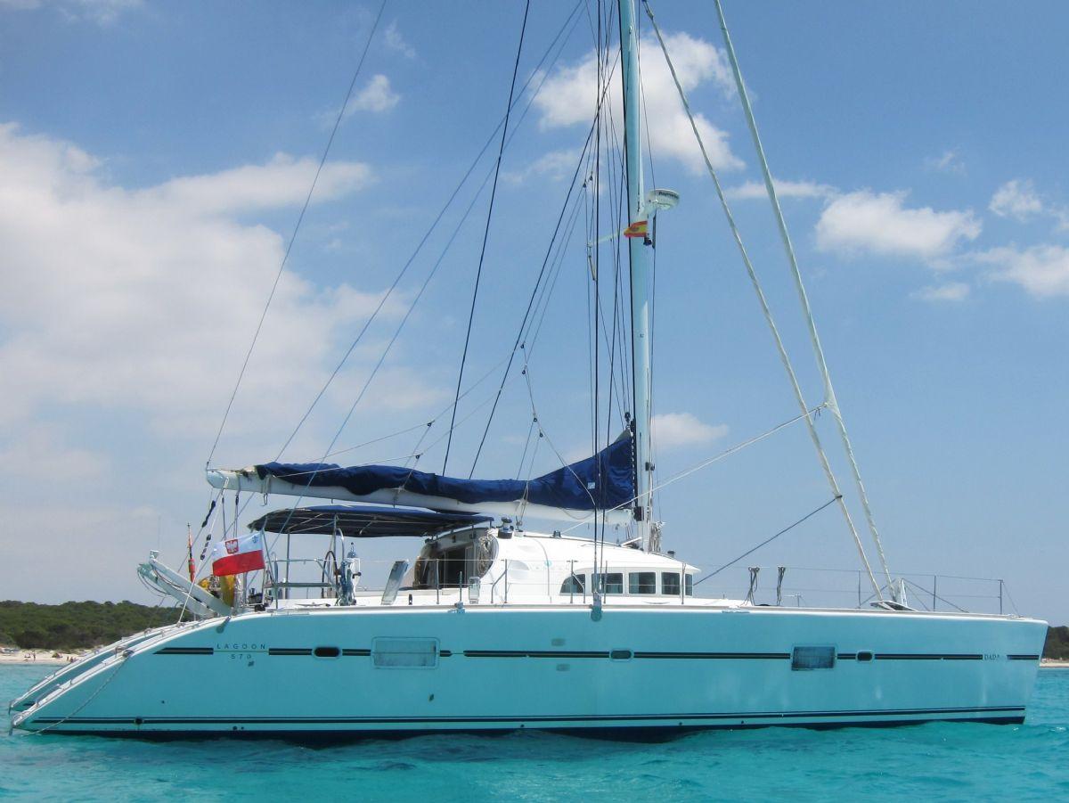 Lagoon 570, Sail Yacht