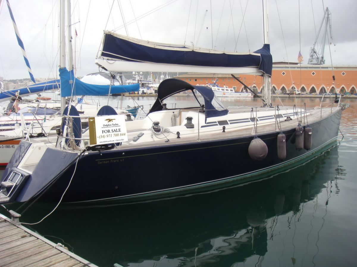 VR Yacht German Frers 47