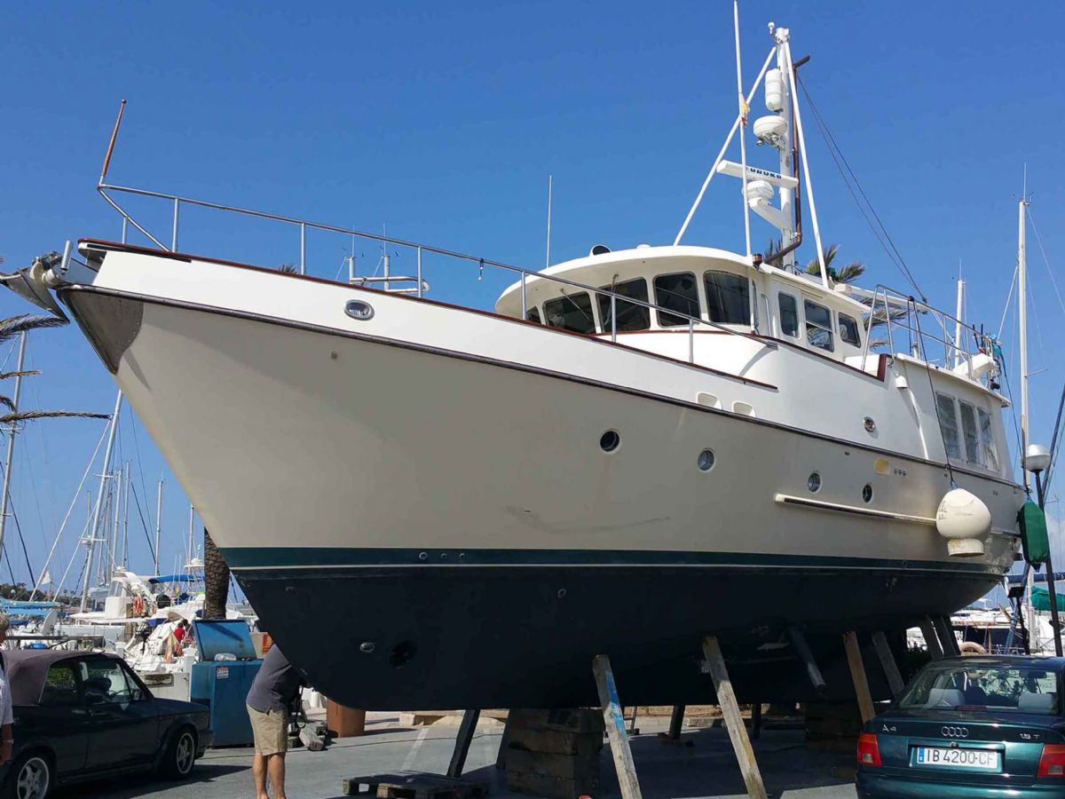 trawler   nordhavn 46 expedition yacht   motor yacht for sale